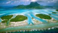 أين تقع جزر بولينيزيا