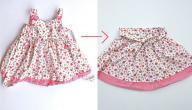 كيف أستفيد من فستان قديم