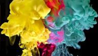 كيف يتم مزج الألوان