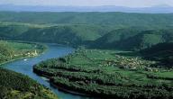 أين يقع نهر دانوب
