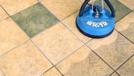 كيف يتم تنظيف السيراميك