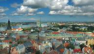 أين تقع مدينة لاتفيا