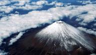 أين يقع جبل فوجي في اليابان