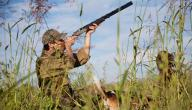 الصيد البري