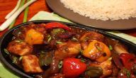 طريقة عمل دجاج وأرز صيني
