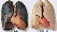 بحث عن أضرار التدخين