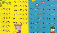 أسهل طريقة لتعلم جدول الضرب