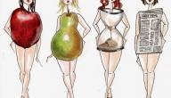 أنواع أجسام النساء