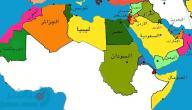 أكبر دولة عربية مساحة