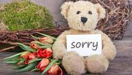 تعبير رسالة اعتذار قصيره