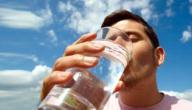 أضرار شرب الماء