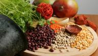 أغذية تحتوي على الحديد