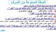 الصفة في اللغة العربية