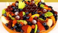 أنواع سلطة الفواكه