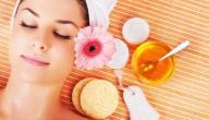 فوائد العسل على الوجه