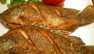 طريقة السمك المقلي