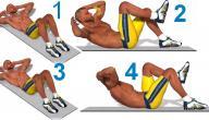 تمارين لعضلات البطن