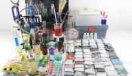 أدوات مختبر الكيمياء