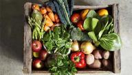 فوائد الخضروات والفواكه بشكل عام