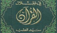 سيد قطب في ظلال القرآن