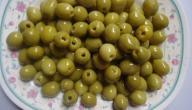 طرق تخليل الزيتون الأخضر