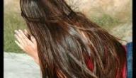 لتنعيم الشعر الجاف