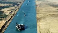 كم يبلغ عرض قناة السويس