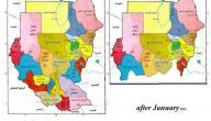 كم عدد ولايات السودان