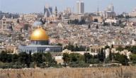 معلومات عامة عن فلسطين