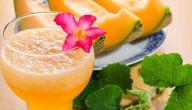 كيفية تحضير عصير الشمام