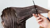 طريقة فرد الشعر بالكيراتين