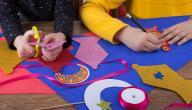 طريقة عمل زينة رمضان بالورق
