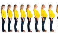 متى تبدأ بطن الحامل بالظهور