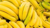 عدد السعرات الحرارية في الموز