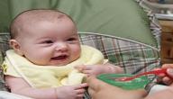 تغذية الطفل في الشهر الثامن