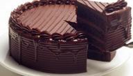 مكونات الكيكة بالشوكولاتة