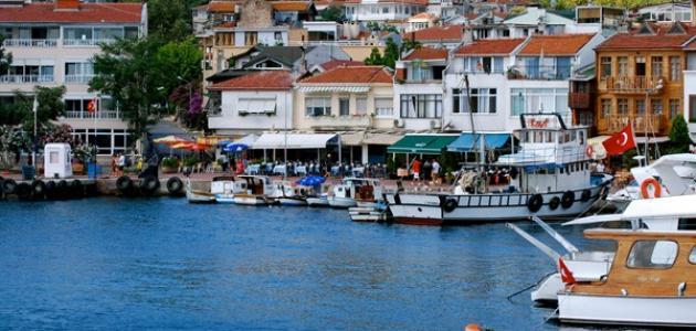 جزر الأميرات في تركيا