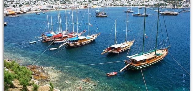 مدينة بودروم التركية