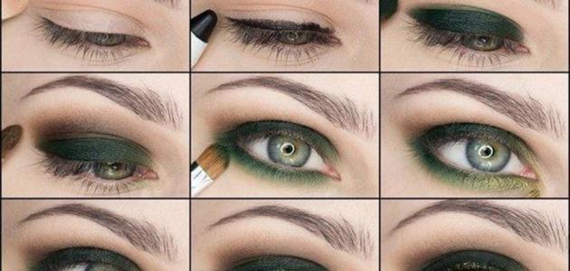 طريقة وضع ظلال العيون - موضوع