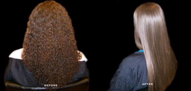 فرد الشعر المجعد نهائيا بالنشا و كرياتين للشعر ! اليك الحل