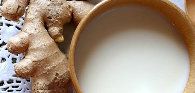 فوائد الحليب بالزنجبيل
