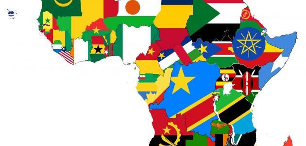 عدد الدول الأفريقية