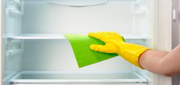 كيفية تنظيف الثلاجة