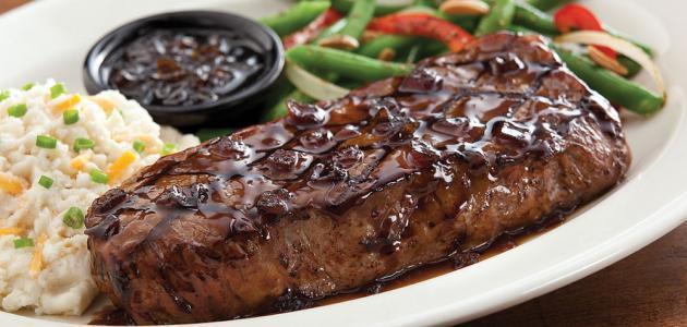 طريقة عمل ستيك اللحم المقلي