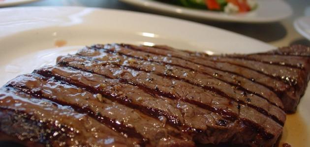 طريقة عمل ستيك اللحم بالصلصة البنية