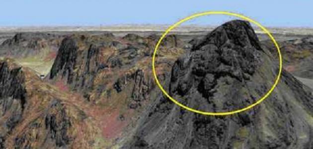 أين يقع جبل سرنديب