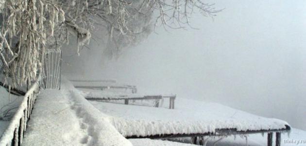 خصائص فصل الشتاء