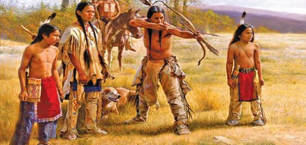 لماذا سمي الهنود الحمر بهذا الاسم - موضوع