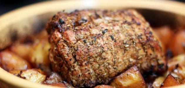 طريقة عمل اللحم بالفرن