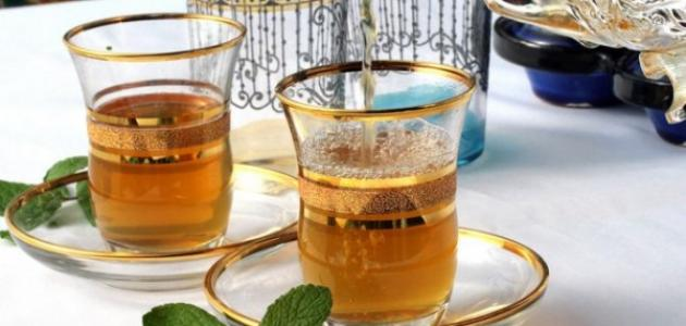 مكونات الشاي المغربي